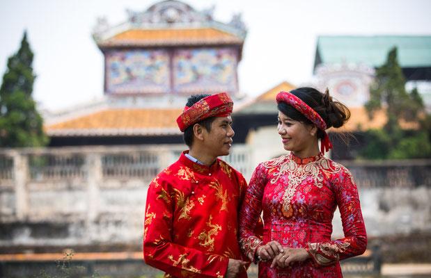 Traditionelles Hochzeitspaar