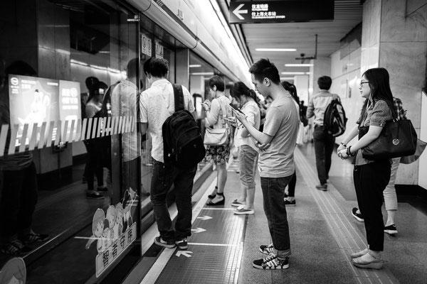U-Bahnfahrt,