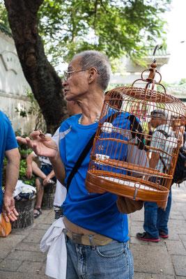 Die Vogelhändler unter sich