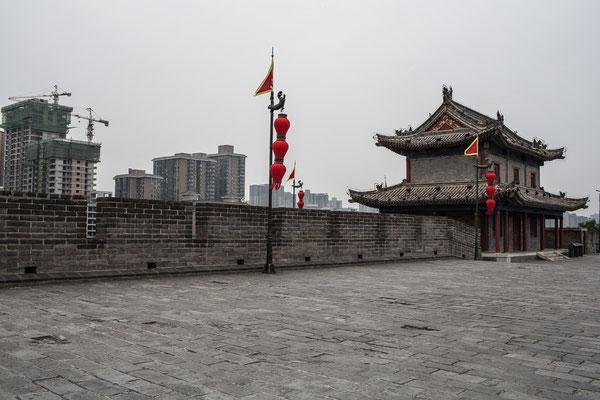 Alte Stadtmauer die bis heute komplett intakt ist