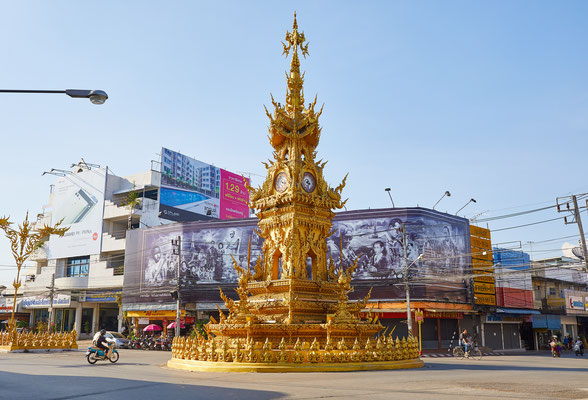 Clock Tower von Chiang Rai