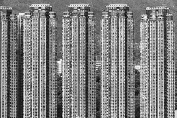 Blick aus meinem Hotelzimmer Hongkong/ Kowloon