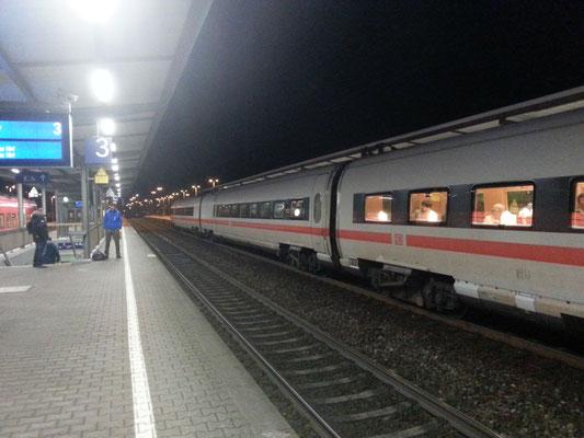 Der ICE 20 von Wien Hbf nach Frankfurt (Main) Hbf
