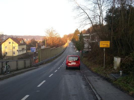 Die Staatsgrenze Deutschland - Österreich
