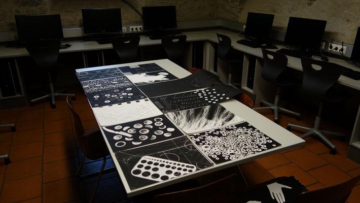 Kontrolle der analogen Arbeiten im digitalen Labor