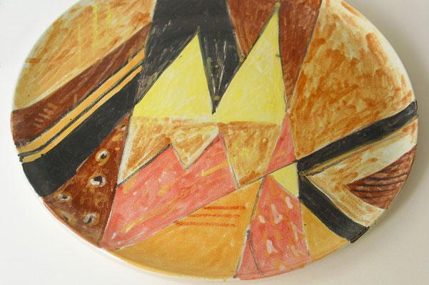 Majolika-Teller, 45 cm (2002)