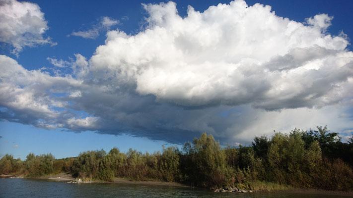 Interessante Wolkenstimmung