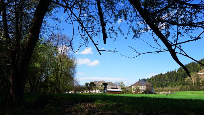 """Der Bauernhof von Familie Ranner, beim Haus """"Gurker"""""""