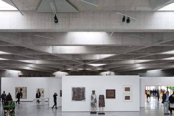 Im Dreieckssaal lockere und unverkrampfte Arbeiten von Peter Pongratz