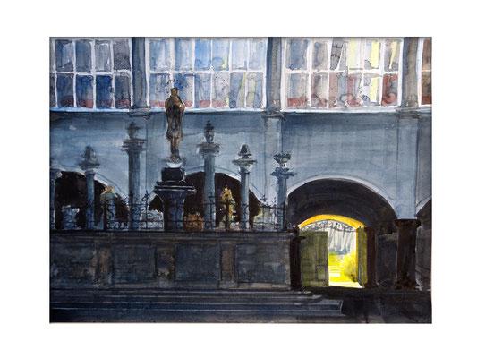 Der Marienbrunnen - ein Sammelsurium errichtet im Jahre 1675