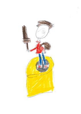 Premier dessin de Annas