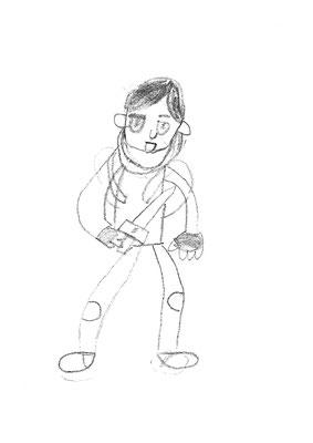 Premier dessin Dahkshana