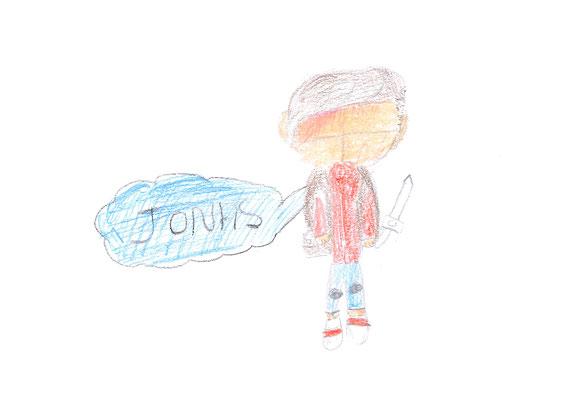 Premier dessin Alicia