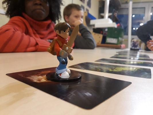 La figure de Jonas le héros que les joueurs doivent aider lors de sa traversée de la forêt mystérieuse.