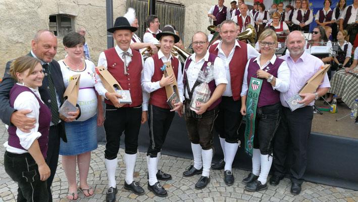 1000 Jahre Rötz - mit 10 Jährigem Partnerschaftsjubiläum zwischen Rötz und Altenmarkt