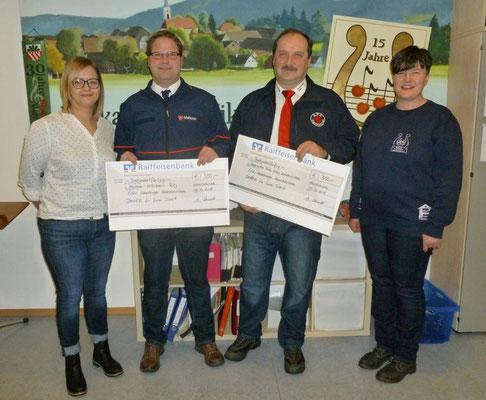 Spendenübergabe an das BRK Waldmünchen und die Malteser Rötz