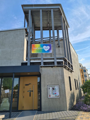 Banner in St. Edith Stein