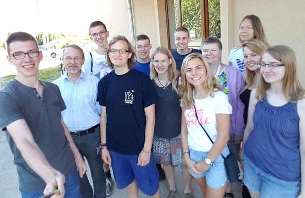 Gruppe aus St. Katharina von Siena - Angekommen in Breslau!