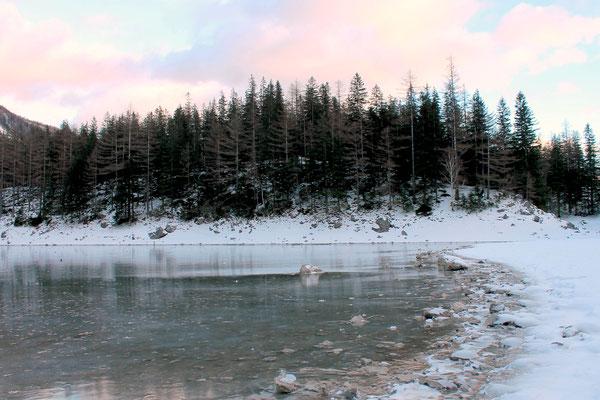 Der Grüne See im Winter