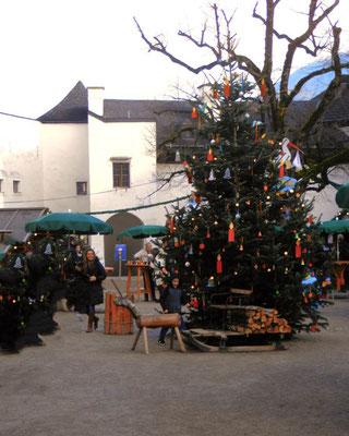 Weihnachtsmarkt Festunghohensalzbrug, Christkindlmarkt Salzburg Schloss