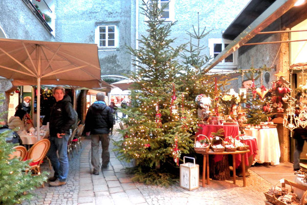 Christkindlmarkt Sternbräu Salzburg