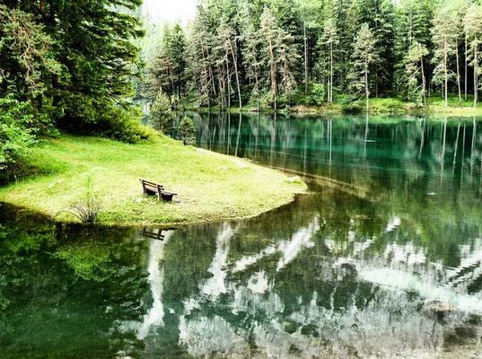 Wandern am Grünen See Tragöss