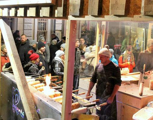 Baumkuchen am Mariazeller Christkindlmarkt