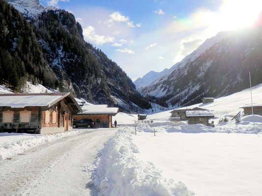Wandern im Wimmertal/ Zillertal