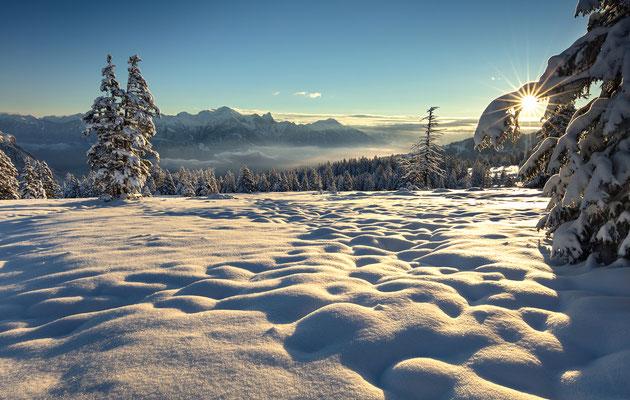 Schnee, Heidiland