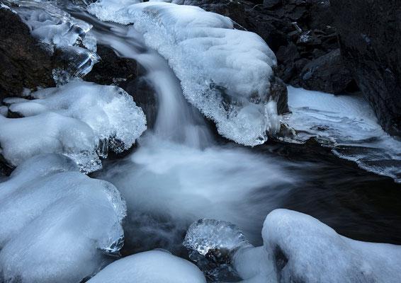 Eis-Fall, Murgtal, 09.Dez.2017