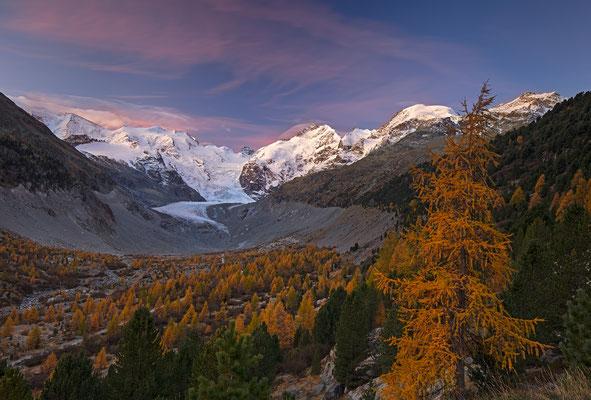 Engadin, Morteratsch, Graubünden