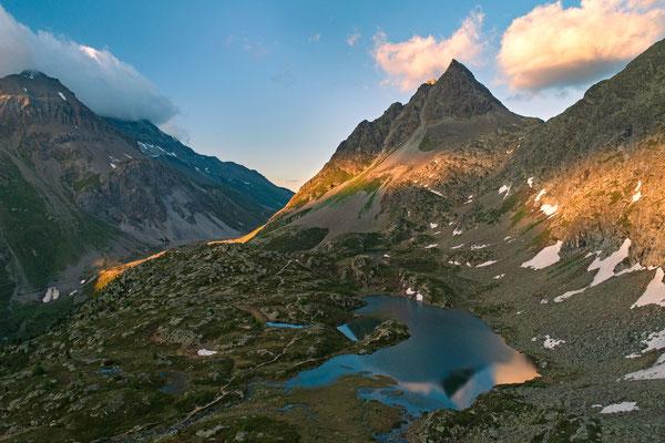 Drohnenbild, Graubünden