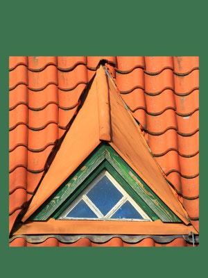 """Besonderheit im Kleinen – an einem historischen Postgebäude in Birkenwerder zu sehen. Erstaunlich, welcher Aufwand in solche """"Kleinigkeiten"""" gesteckt wurde"""