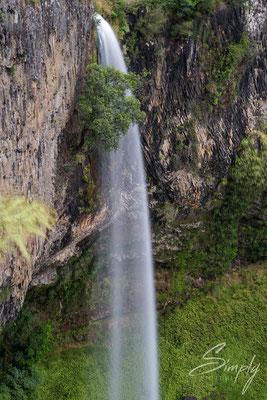 Tongariro Forest Park, Taranaki Falls, Wasserfall, Ausschnitt