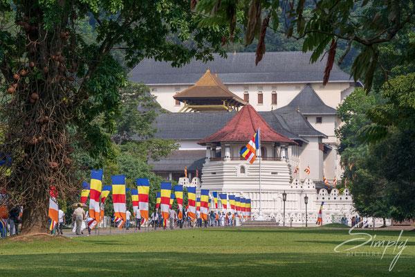 Tempelanlge Sri Dalada Maligawa in Kandy