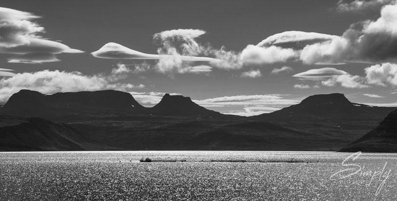 In den Fjorden der Gegend um Ísafjörður