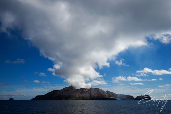 Whakaari, White Island, Anfahrt auf White Island