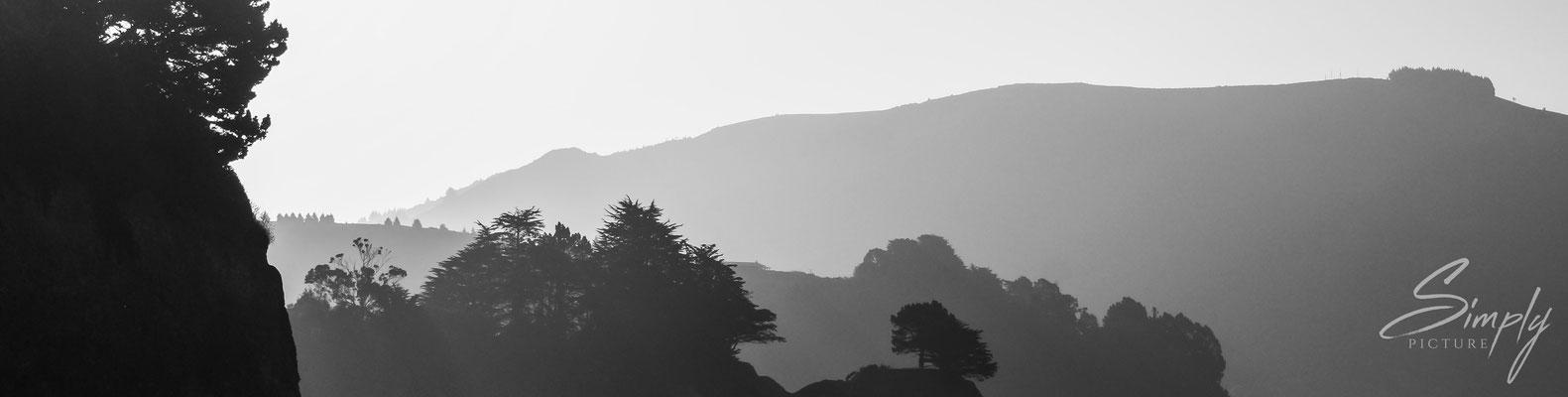 Dunedin, Sonnenuntergangsstimmung in der Gegend der Latham Bay