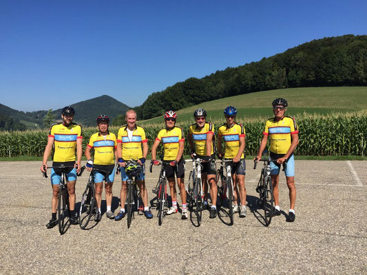 22.8.2015 Trainingsfahrt: Wettingen - Staffelegg- Stein - Koblenz - Wettingen (ca. 100 km