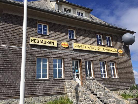 Das Restaurant auf der Passhöhe