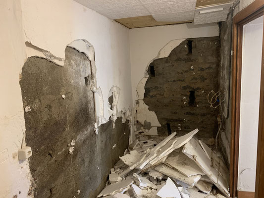Kellersanierung,Feuchtigkeit in Mauern