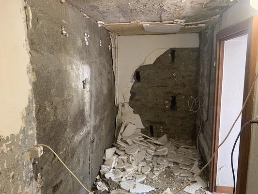 Feuchtigkeit in Mauern, Keller Abdichten von innen im Injektionsverfahren, Injektionsabdichtung