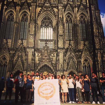 18.07.16 - Stadtrallye durch die Kölner Altstadt