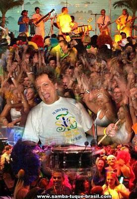 Foto: Torsten de Souza Santos(Band) Publikum Sambatuque Brasil Foto Designerin: Rita Sommer