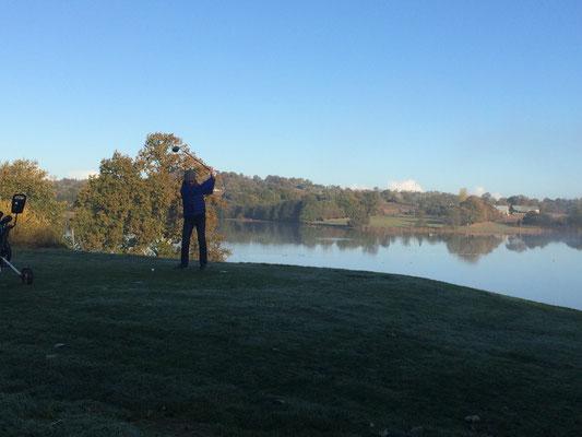 Golf sur la lac de la Dathée
