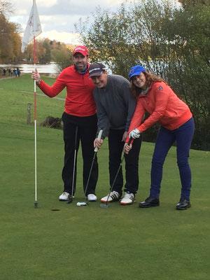Les joies des compétitions de golf