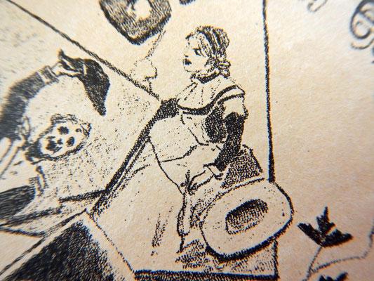 Девушка за прялкой (Старинная французская песенка)