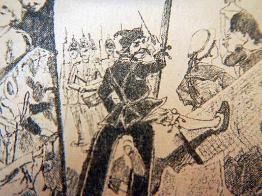 Бравый унтер-офицер командует взводом (Марш деревянных солдатиков)