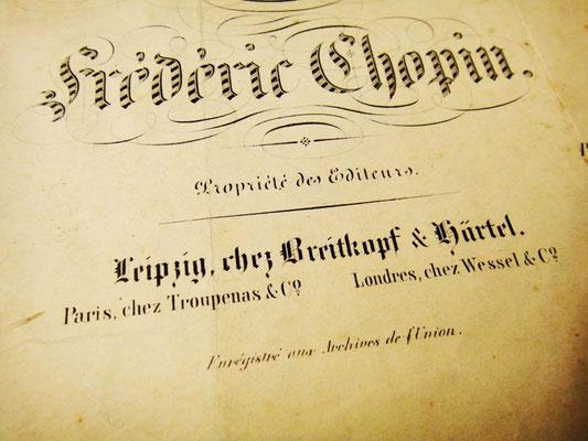 Издатели Брейткопф и Гертель в Лейпциге