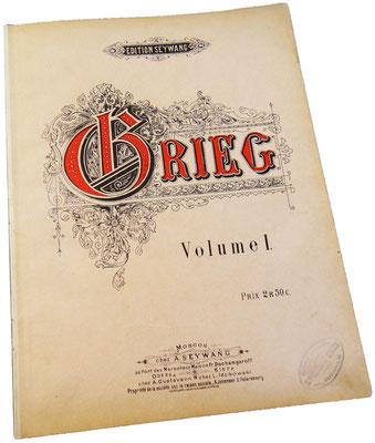 Григ, обложка 1 части